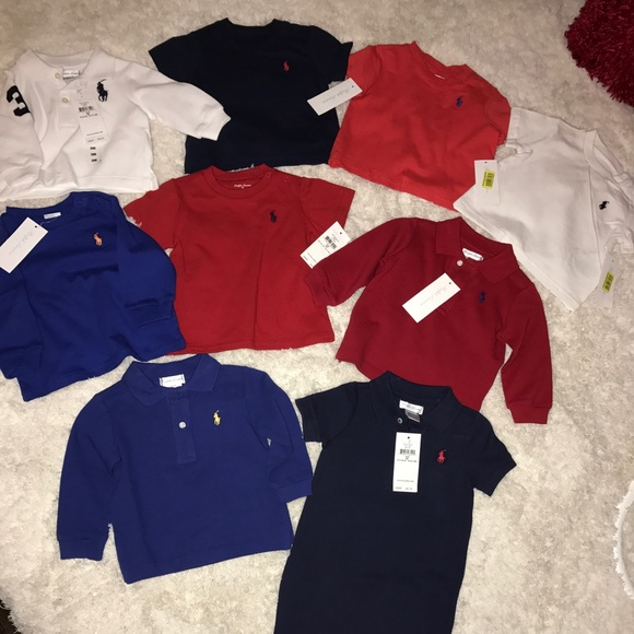 19cf76e4 Ralph Lauren Shirts & Tops | Baby Boy Polo Bundle Sale | Poshmark